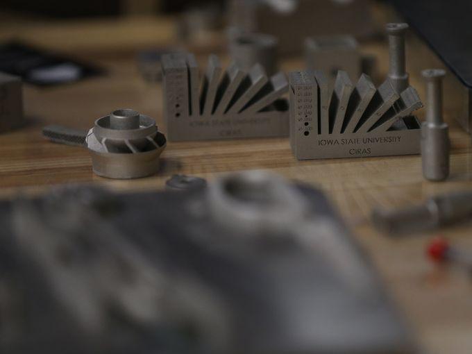 3-d metal printer